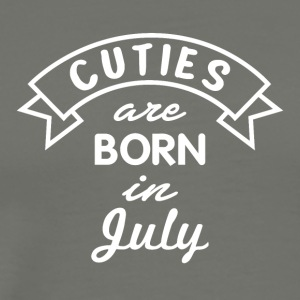 Cuties are born in July - Men's Premium T-Shirt