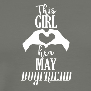 This Girl loves her May Boyfriend - Men's Premium T-Shirt