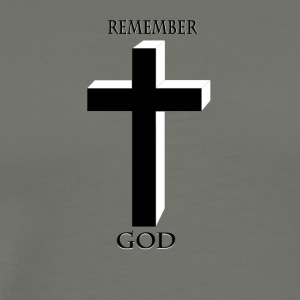 Remember God - Men's Premium T-Shirt