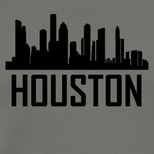 Houston Texas City Skyline - Men's Premium T-Shirt