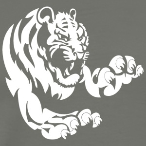 big_tiger_white - Men's Premium T-Shirt