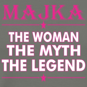 Majka The Woman The Myth The Legend - Men's Premium T-Shirt