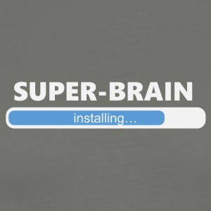 Installing Super Brain (1202) - Men's Premium T-Shirt