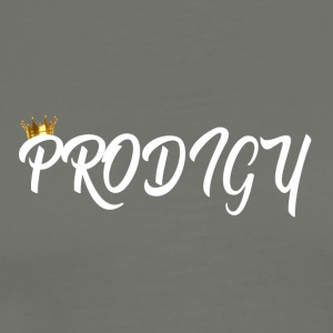 Prodigy White w/Gold Crown - Men's Premium T-Shirt