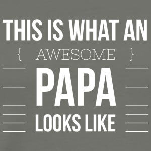 Awesome Papa - Men's Premium T-Shirt