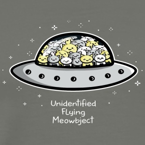 Unidentified Flying Meowbject - Men's Premium T-Shirt