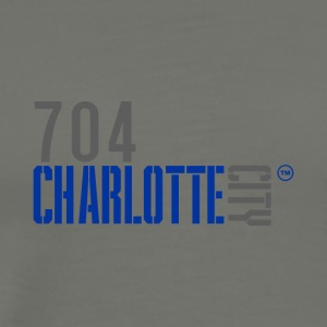 704 charlotte city - Men's Premium T-Shirt