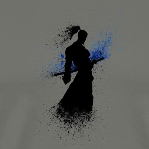 Samurai Supure - Blue - Men's Premium T-Shirt