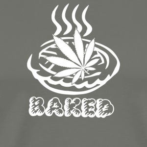 Baked Pie Weed Bong Chef - Men's Premium T-Shirt