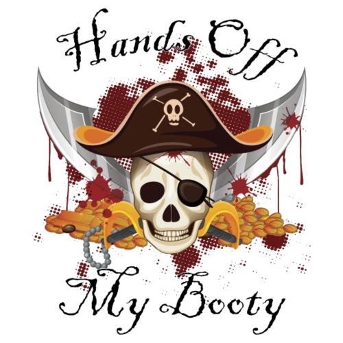 Hands off my booty - Men's Premium T-Shirt
