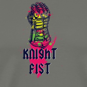 KNIGHT FIST COLORFUL - Men's Premium T-Shirt