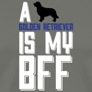 A Golden Retriever Is My Bff T Shirt - Men's Premium T-Shirt