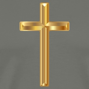 Gold Cross - Men's Premium T-Shirt