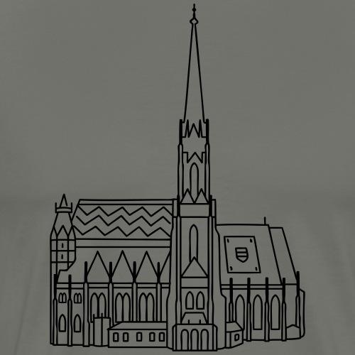 Cathedral Vienna - Men's Premium T-Shirt