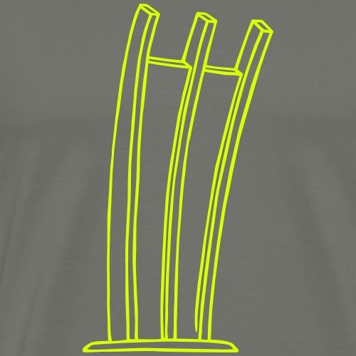 Airlift Monument Berlin - Men's Premium T-Shirt