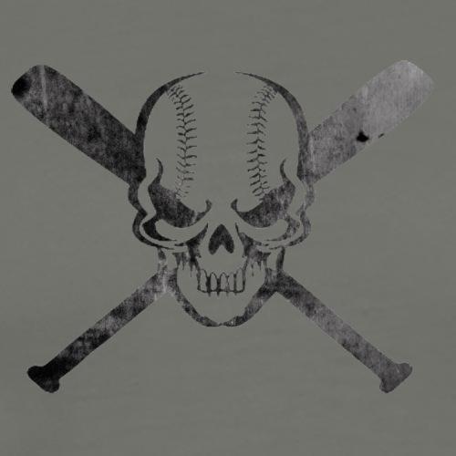 Skull & Cross Bats - Men's Premium T-Shirt