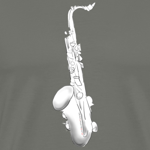 Tenor Saxophone · white rotate