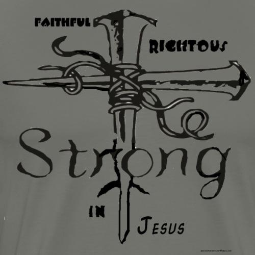 I AM strong in christ - Men's Premium T-Shirt
