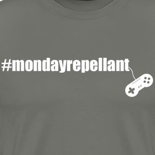 Mondayrepellant white - Men's Premium T-Shirt