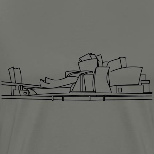 Guggenheim Museum Bilbao - Men's Premium T-Shirt