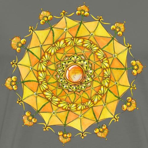 Zentangle Mandala Navel Manipura Chakra