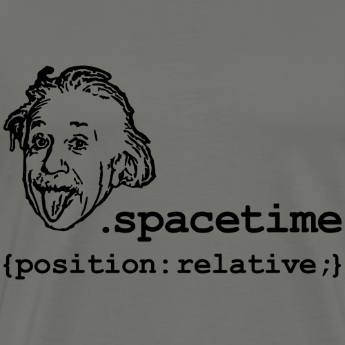 Position Relativity - Men's Premium T-Shirt