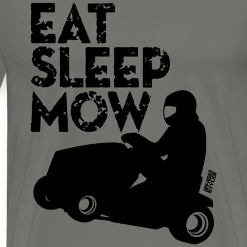 Lawnmower Eat Sleep Mow - Men's Premium T-Shirt