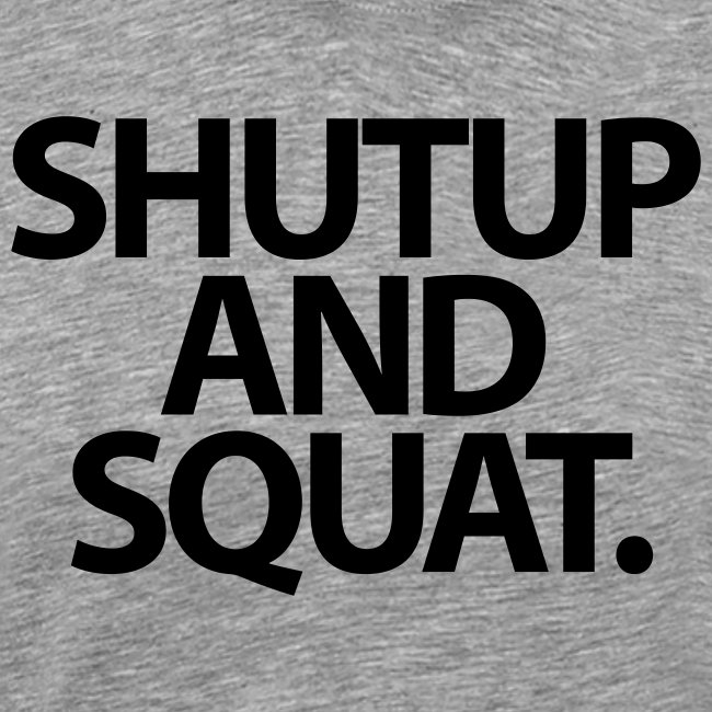 Shutup type Gym Motivation