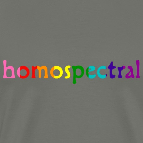 homospectral - Men's Premium T-Shirt