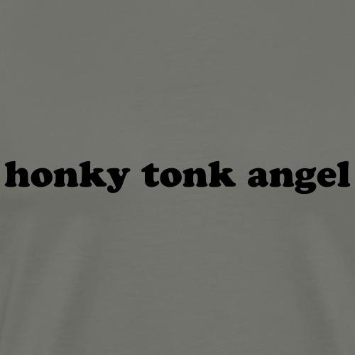 Honky Tonk Angel Country Music - Men's Premium T-Shirt
