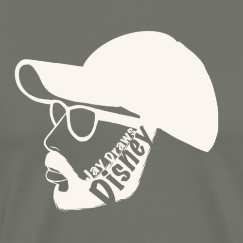 Jay Draws Disney Logo - Men's Premium T-Shirt