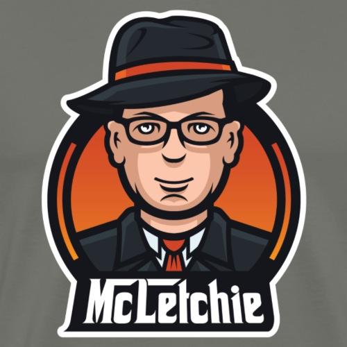 Mcletchie Logo - Men's Premium T-Shirt
