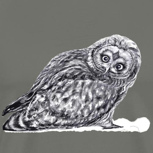 Owl snow - Men's Premium T-Shirt