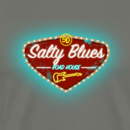 Salty Blues Roadhouse - Men's Premium T-Shirt