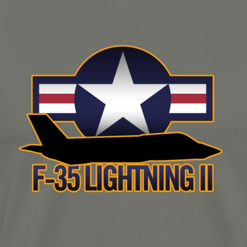 F-35 Lightning II - Men's Premium T-Shirt