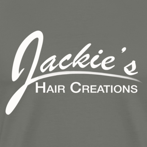Jaquies logo white for shirts and other - Men's Premium T-Shirt