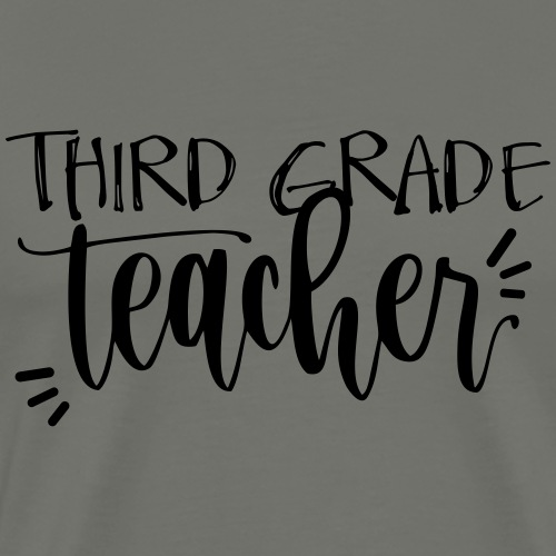 Third Grade Teacher T-Shirts - Men's Premium T-Shirt