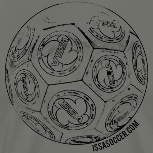 ISSA Soccer Ball - Men's Premium T-Shirt