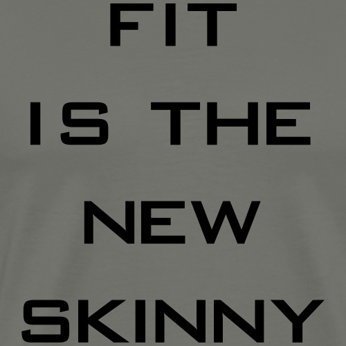 The New Skinny Gym Motivation - Men's Premium T-Shirt