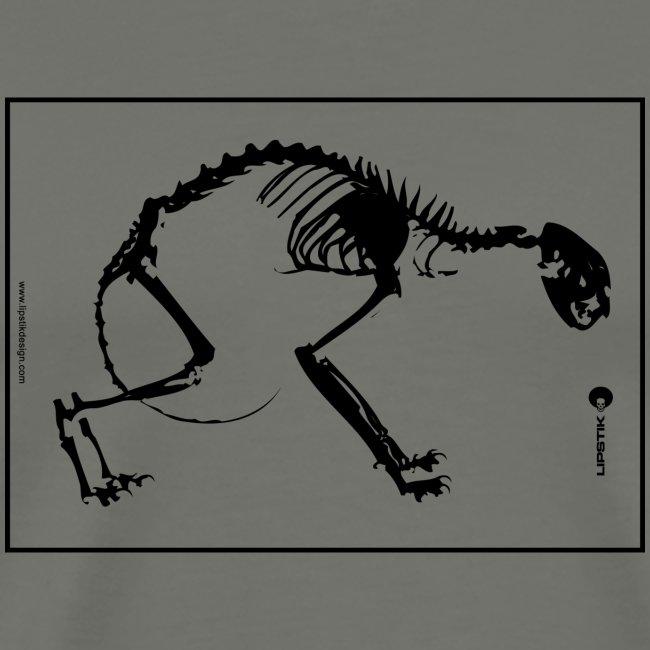 Cat Skull Back png