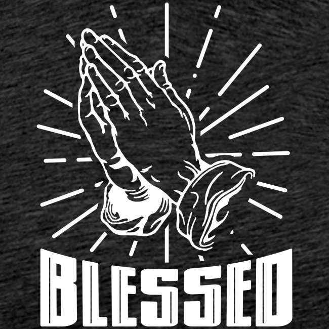 Blessed - Alt. Design (White Letters)