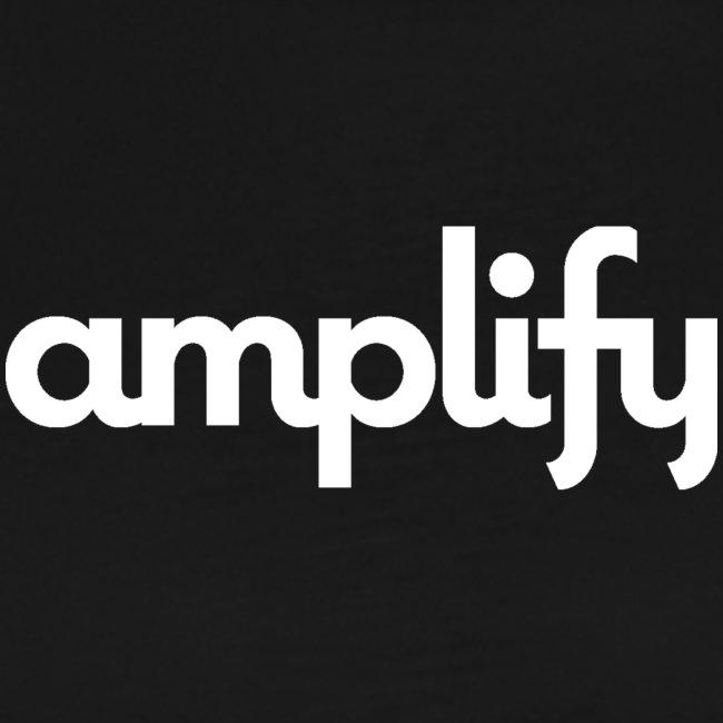 amplify logo// white