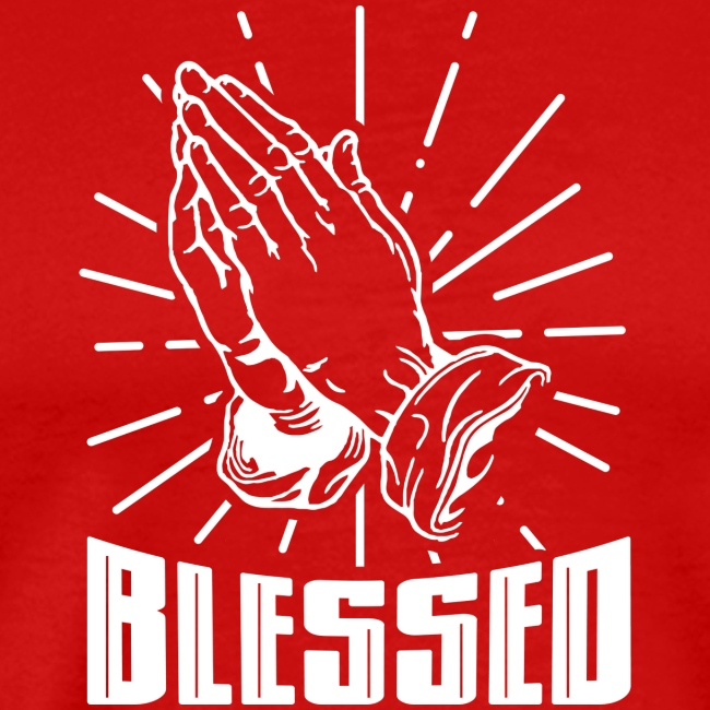 Blessed - Alt. Design (White Letters)