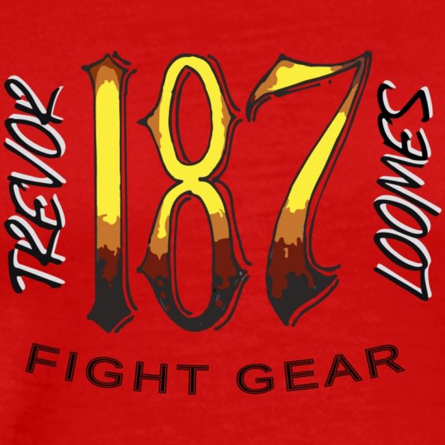 Coloured Trevor Loomes 187 Fight Gear Logo