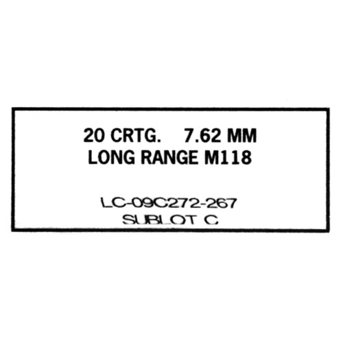 M118LR Ammo Box - Black - Men's Premium T-Shirt