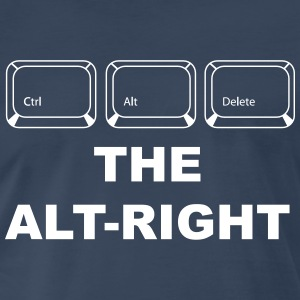 Ctrl Alt Delete The Alt Right - Men's Premium T-Shirt