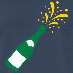 sparkling wine - new year - Men's Premium T-Shirt
