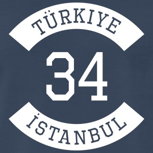 turkiye 34 - Men's Premium T-Shirt