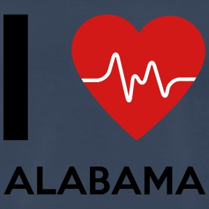 I Love Alabama - Men's Premium T-Shirt
