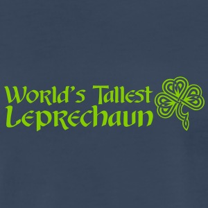 Worlds Tallest Leprechaun - Men's Premium T-Shirt